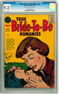 Silver Age (1956-1969):Romance, True Bride-to-Be Romances #23 File Copy (Harvey, 1957) CGC NM- 9.2 Cream to off-white pages....