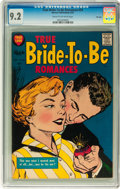 Silver Age (1956-1969):Romance, True Bride-to-Be Romances #24 File Copy (Harvey, 1957) CGC NM- 9.2Cream to off-white pages....