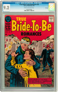 Silver Age (1956-1969):Romance, True Bride-to-Be Romances #25 File Copy (Harvey, 1957) CGC NM- 9.2Cream to off-white pages....