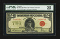 Canadian Currency: , DC-26b $2 1923. ...