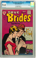 Golden Age (1938-1955):Romance, True Brides' Experiences #12 File Copy (Harvey, 1955) CGC NM 9.4Cream to off-white pages....