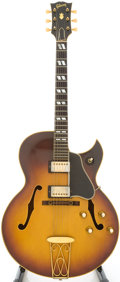 Musical Instruments:Electric Guitars, Circa 1963 Gibson ES-350T Sunburst Semi-Hollow Body Electric Guitar, Serial # 80939....