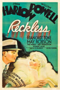 "Movie Posters:Drama, Reckless (MGM, 1935). One Sheet (27"" X 41"") Style C.. ..."