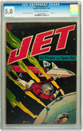 Golden Age (1938-1955):Science Fiction, Jet Powers #1 (Magazine Enterprises, 1950) CGC VG/FN 5.0 Cream tooff-white pages....