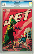Golden Age (1938-1955):Science Fiction, Jet Powers #2 (Magazine Enterprises, 1951) CGC VF- 7.5 Off-white towhite pages....