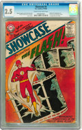 Silver Age (1956-1969):Superhero, Showcase #4 The Flash (DC, 1956) CGC GD+ 2.5 Cream to off-whitepages....