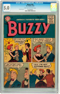 Silver Age (1956-1969):Humor, Buzzy #70 (DC, 1956) CGC VG/FN 5.0 Light tan to off-white pages....