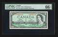 Canadian Currency: , BC-37bA $1 1954 Replacement Note . ...