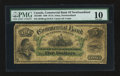 Canadian Currency: , Saint Johns, NF- Commercial Bank of Newfoundland $5 Jan. 3, 1888Ch. # 185-18-06. ...