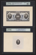 Canadian Currency: , Toronto, ON- Imperial Bank of Canada $10 Nov. 1, 1933 Ch.#375-20-04FPa Face Proof. ... (Total: 2 items)