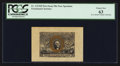 Fractional Currency:Second Issue, Fr. 1314SP 50¢ First Issue Wide Margin Face PCGS Choice New 63.. ...