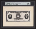 Canadian Currency: , Toronto, ON- Imperial Bank of Canada $5 Nov. 1, 1933 Ch.#375-20-02FPa Face Proof. ...