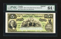 Canadian Currency: , Saint John, NB- The Bank of New Brunswick $5 189_ Ch. # 515-16-02FPFace Proof. ...