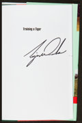 Golf Collectibles:Autographs, Tiger Woods Signed Hardcover Book. ...