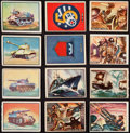 """Non-Sport Cards:Sets, 1950-51 R709-2 Topps """"Freedom's War"""" Partial Set (118/203) WithFour Tank Cards and Extras. ..."""