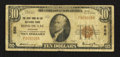 National Bank Notes:Wisconsin, Fond Du Lac, WI - $10 1929 Ty. 1 The First NB Ch. # 555. ...