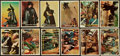Non-Sport Cards:Sets, 1958 Topps Zorro Mid To High Grade Complete Set (88). ...