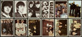 Non-Sport Cards:Sets, 1964 Topps Beatles Color and Hard Days Night Mid To High GradeComplete Sets (2). . ...