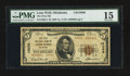 National Bank Notes:Oklahoma, Lone Wolf, OK - $5 1929 Ty. 2 The First NB Ch. # 10096. ...