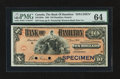 Canadian Currency: , Hamilton, ON- The Bank of Hamilton $10 Jan. 2, 1904 Ch. # 345-18-04s Specimen. ...