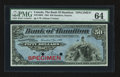 Canadian Currency: , Hamilton, ON- The Bank of Hamilton $50 Jan. 2, 1904 Ch. # 345-18-08S Specimen. ...