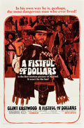 "Movie Posters:Western, A Fistful of Dollars (United Artists, 1967). One Sheet (27"" X 41"").. ..."