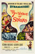 """Movie Posters:Fantasy, The 7th Voyage of Sinbad (Columbia, 1958). One Sheet (27"""" X 41"""").. ..."""