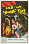 "Movie Posters:Horror, Beast from Haunted Cave (Film Group, 1959). One Sheet (27"" X 41"")....."