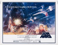 "Movie Posters:Science Fiction, Star Wars (20th Century Fox, 1977). Half Sheet (22"" X 28"") StyleA.. ..."