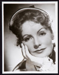 "Movie Posters:Photo, Greta Garbo in Conquest (MGM, 1937). Portrait Photo (10"" X 13"")....."