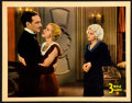 """Movie Posters:Comedy, Three Wise Girls (Columbia, 1932). Lobby Card (11"""" X 14"""").. ..."""