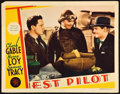 "Movie Posters:Action, Test Pilot (MGM, 1938). Lobby Card (11"" X 14"").. ..."