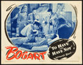 """Movie Posters:Romance, To Have and Have Not (Warner Brothers, 1944). Lobby Card (11"""" X 14"""").. ..."""