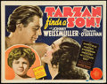 "Movie Posters:Adventure, Tarzan Finds a Son (MGM, 1939). Title Lobby Card (11"" X 14"").. ..."