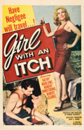 """Movie Posters:Bad Girl, Girl with An Itch (Howco, 1958). One Sheet (27"""" X 41"""").. ..."""