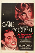 "Movie Posters:Academy Award Winners, It Happened One Night (Columbia, R-1948). One Sheet (27"" X 41"")....."