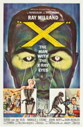 """Movie Posters:Science Fiction, X - The Man with the X-Ray Eyes (American International, 1963). OneSheet (27"""" X 41"""").. ..."""