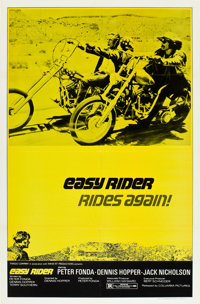 """Easy Rider (Columbia, R-1972). One Sheet (27"""" X 41"""")"""
