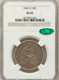 Seated Half Dollars: , 1840-O 50C XF45 NGC. CAC. NGC Census: (8/49). PCGS Population(17/49). Mintage: 855,100. Numismedia Wsl. Price for problem ...