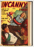Pulps:Science Fiction, Uncanny Stories #1 Bound Volume (Manvis Publications, 1941)....