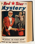 Pulps:Hero, Red Star Mystery #1-4 Bound Volume (Frank A. Munsey Company, 1940)....