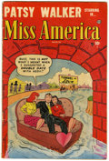 Golden Age (1938-1955):Romance, Miss America Magazine V7#44 (Timely, 1952) Condition: VG+....