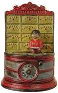 """Antiques:Toys, """"Confectionery Bank"""" Mechanical Bank..."""