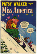 Golden Age (1938-1955):Romance, Miss America Magazine V7#50 (Timely, 1953) Condition: VG+....
