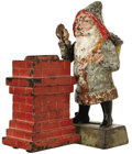 "Antiques:Toys, ""Santa Claus"" Mechanical Bank..."