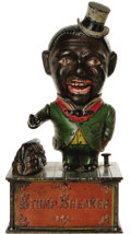 Antiques:Toys, Stump Speaker Mechanical Bank...