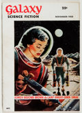 Books:Science Fiction & Fantasy, Galaxy Science Fiction. Continuous Run of the First FifteenIssues, Including Ray Bradbury's The Fireman. Wo... (Total:15 Items)