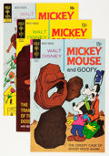 Bronze Age (1970-1979):Cartoon Character, Mickey Mouse Group (Gold Key, 1970-79) Condition: Average VF+....(Total: 55 Comic Books)