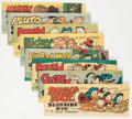 Premiums:Comic, Wheaties Premiums B Group (Walt Disney Productions, 1950) Condition: Average VF/NM.... (Total: 8 Comic Books)