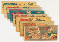 Golden Age (1938-1955):Cartoon Character, Cheerios/Wheaties Premiums Group (Walt Disney Productions, 0)Condition: Average FN.... (Total: 8 Comic Books)